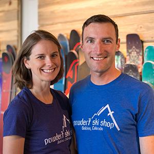 Amy Dannwolf and Jordan Jones