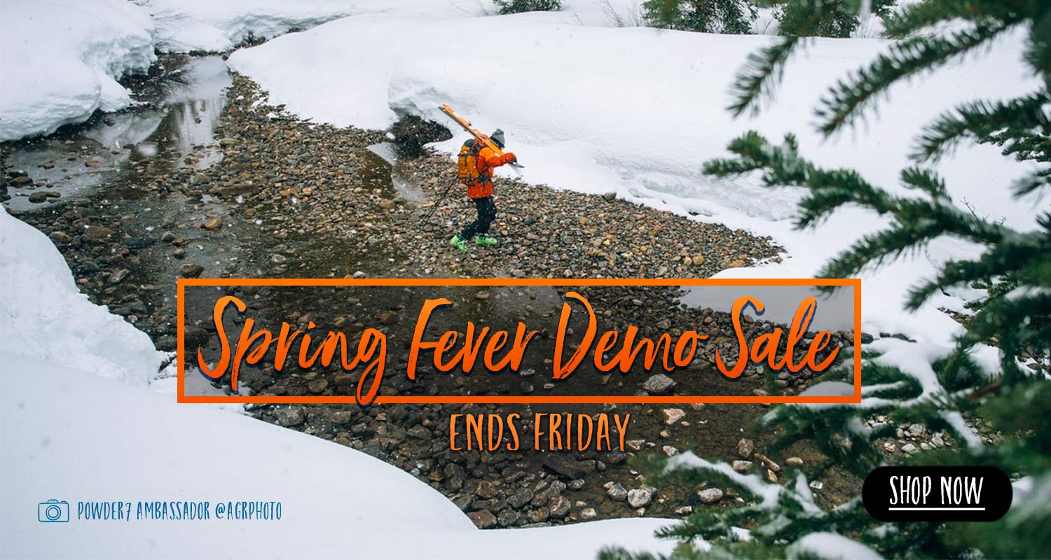 Spring Fever Demo Ski Sale - going on now!