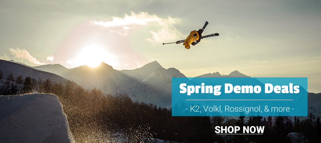 Buy now and save on demo skis - shop our biggest selection of the year.