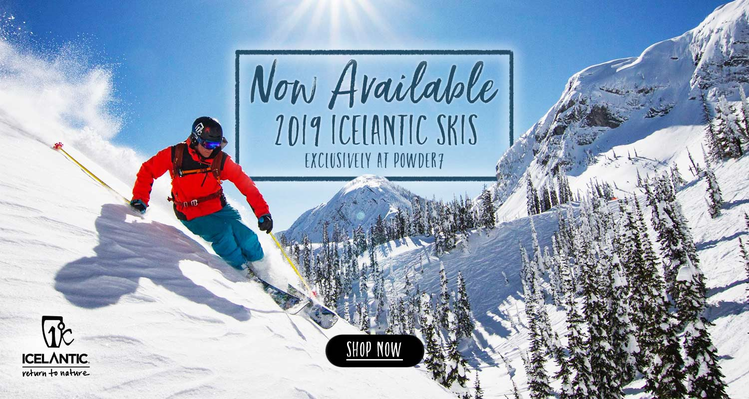 2019 Icelantic Skis in stock now!
