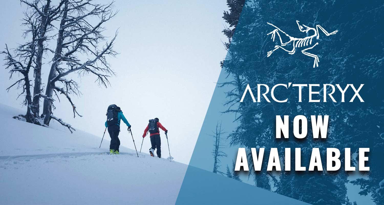 Arc'teryx now in stock!
