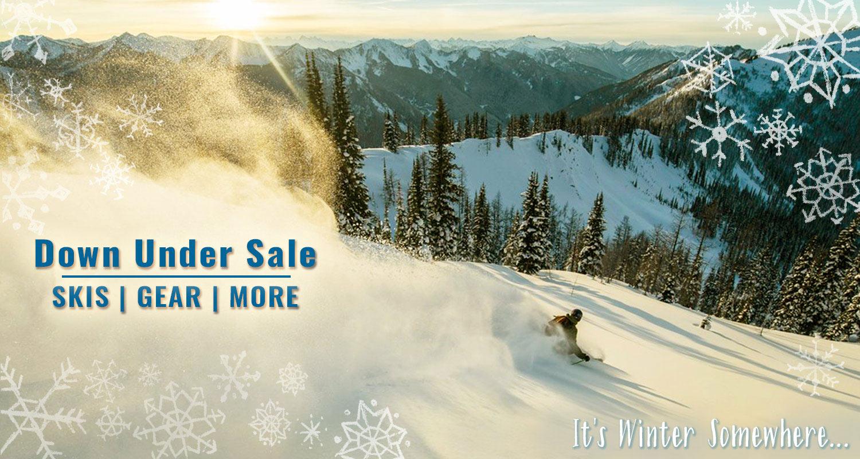 Down Under Sale - It's Winter Somewhere! Ends 6/25.