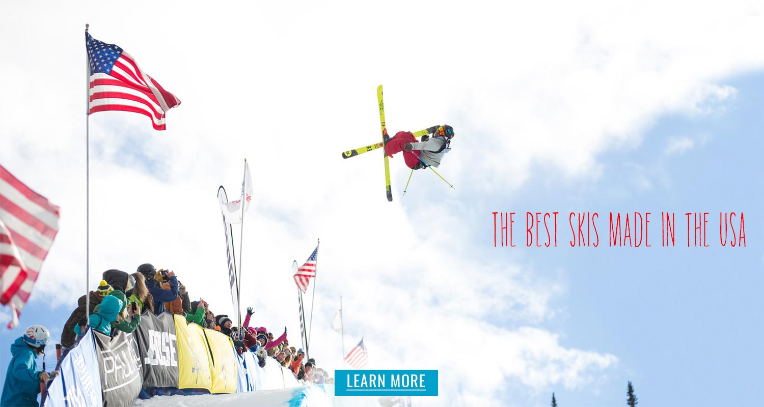 Best skis that are made in the USA - read all about it on the Lift Line Blog