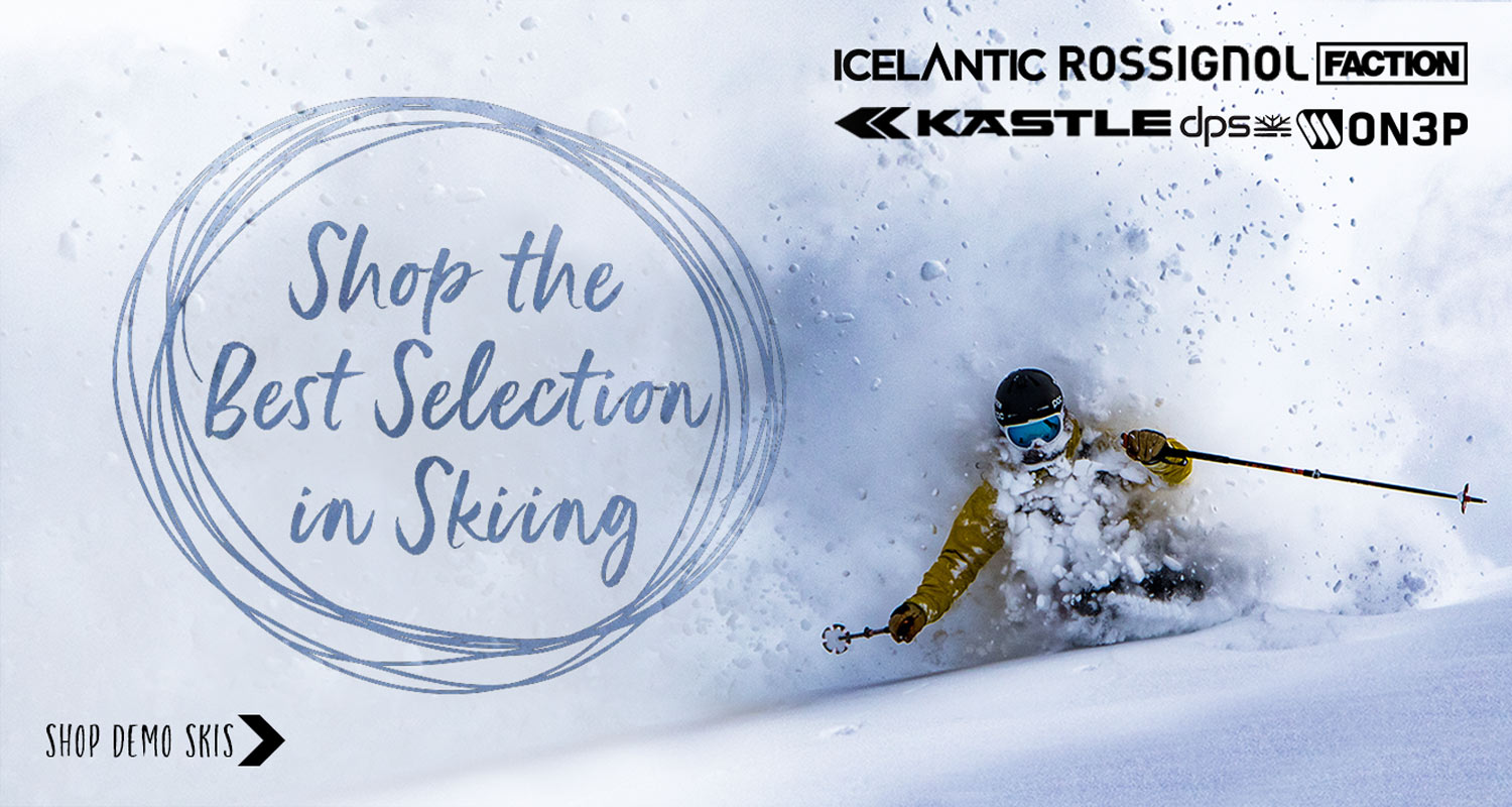 Shop North America's Best Selection of Demo Skis!