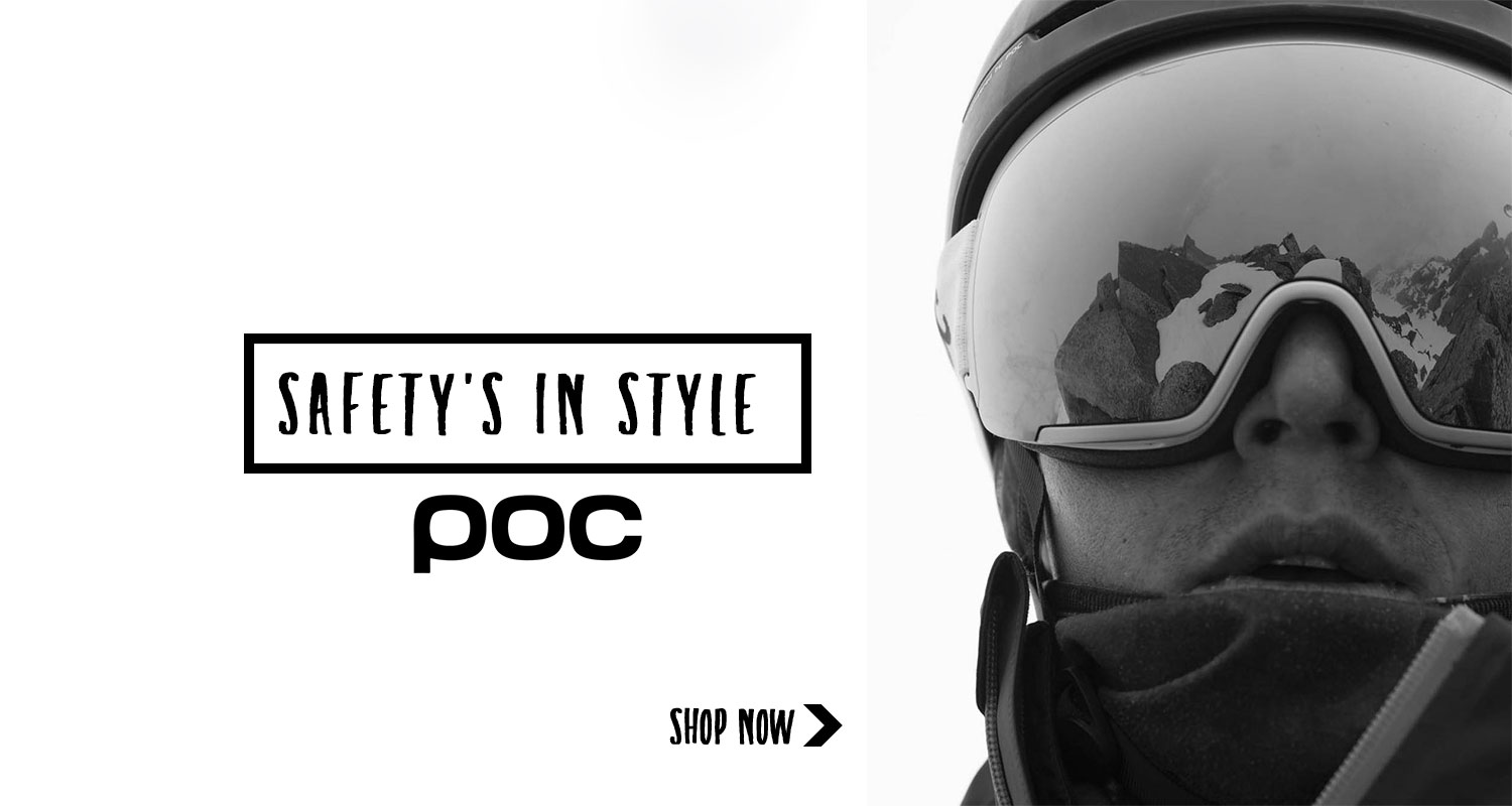 POC Helmets and goggles - on sale now!