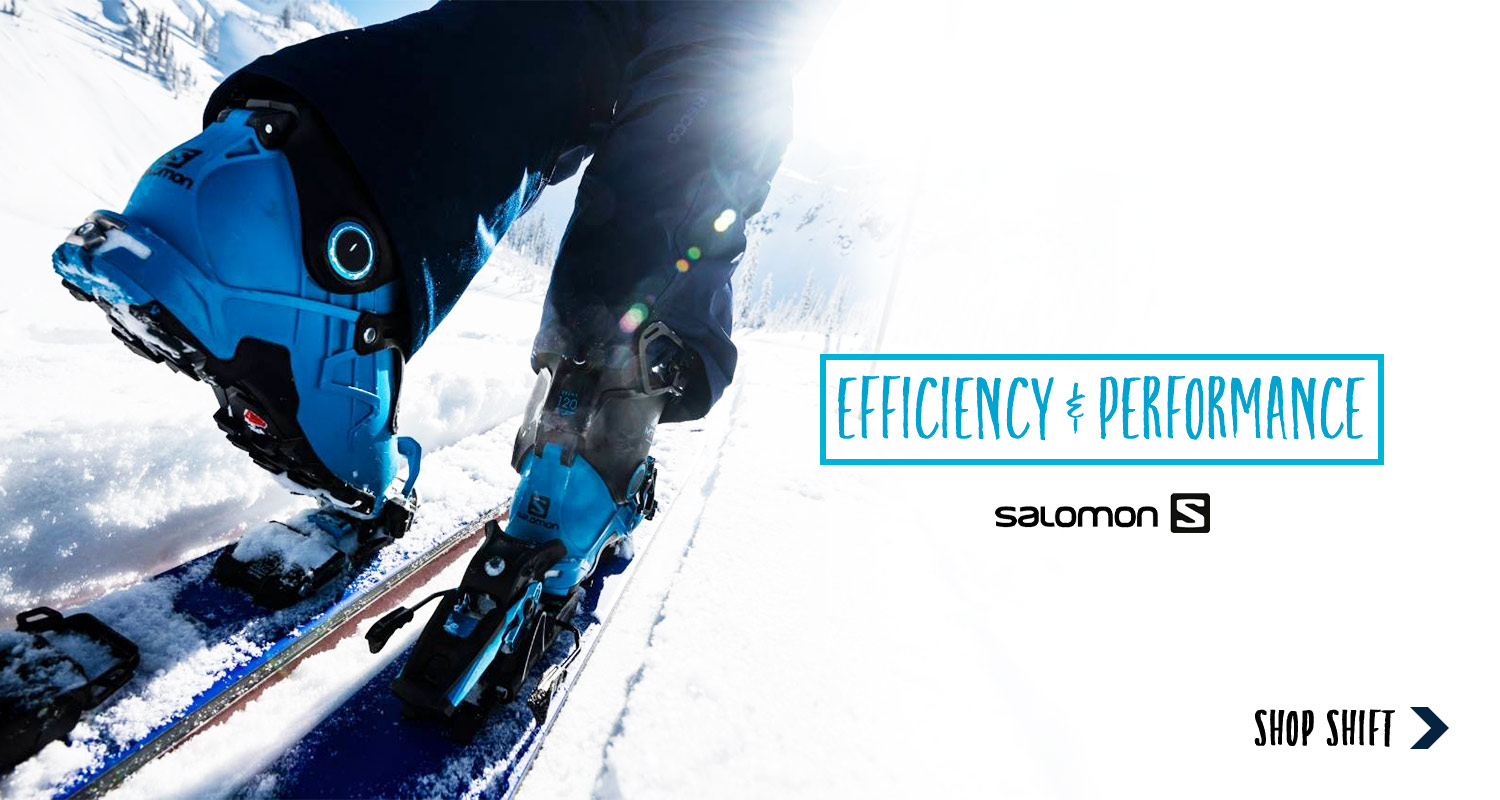 Salomon Shift bindings on sale now!