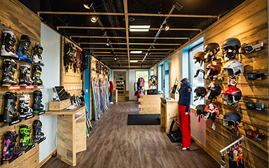 Our ski shop in Golden, Colorado