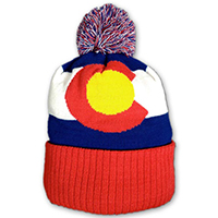 Colorado Flag Beanie Hat