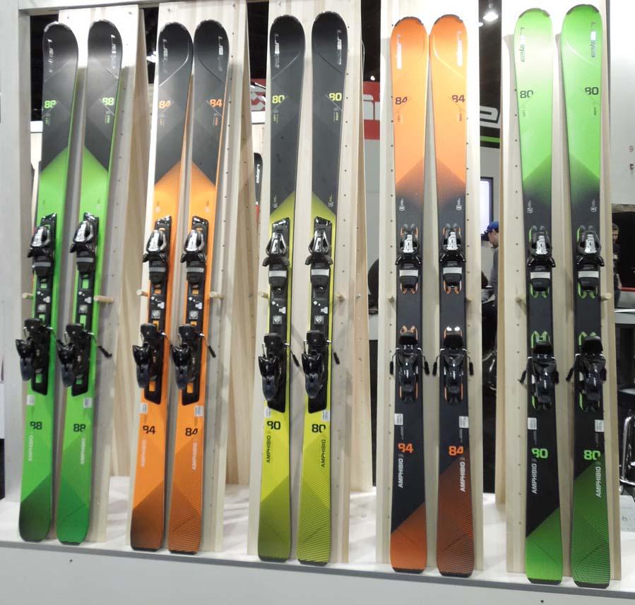 2017 Elan Amphibio Skis