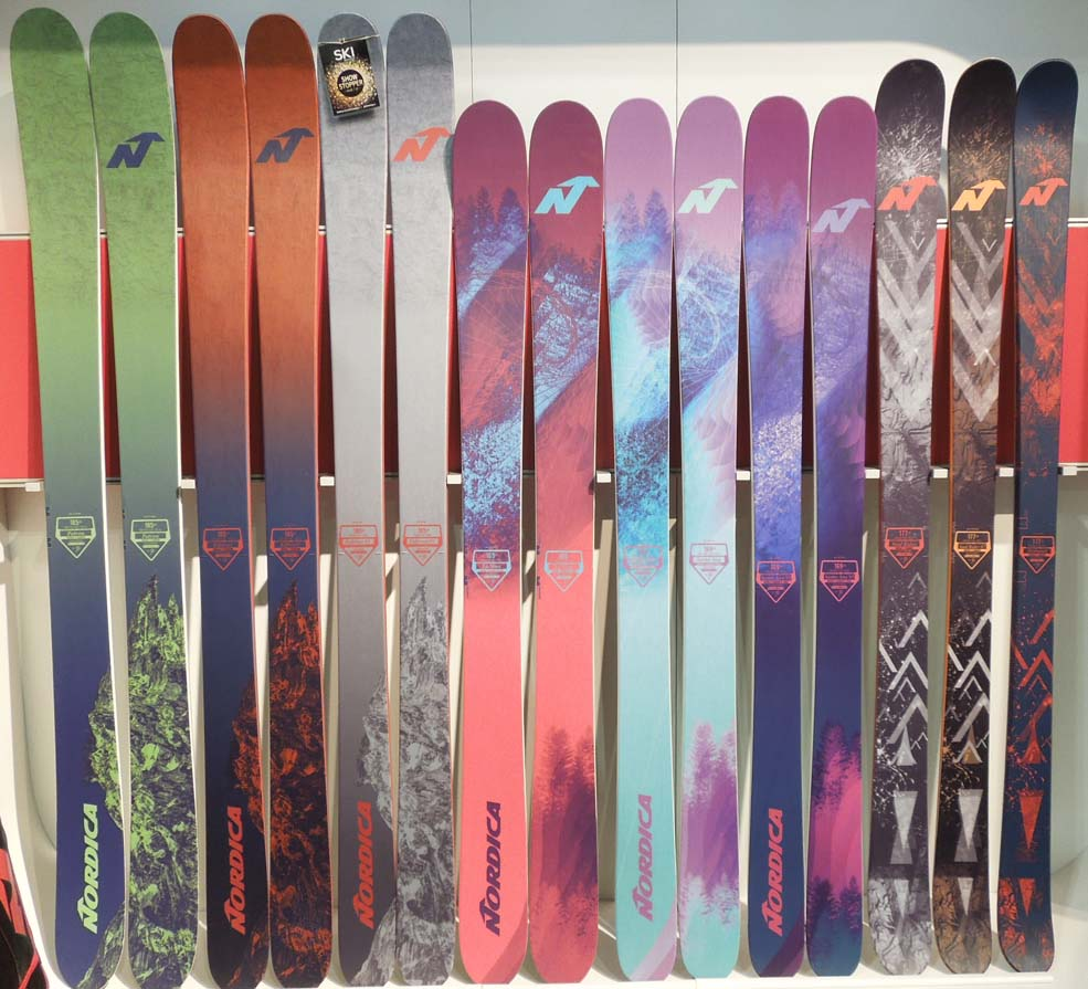 Sneak Peek: 2017 Nordica Skis – Enforcer, Santa Ana, NRGy and More