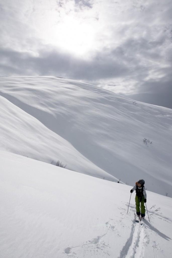 """No Woman No Cry"" slope. Kaçkar range, Ayder. Photo: Benoît Vollmer"