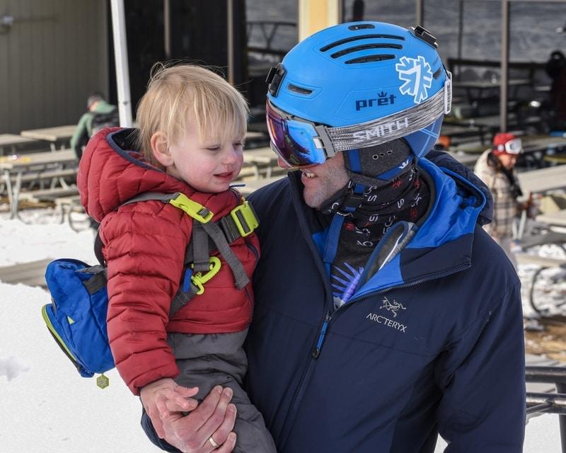 kids ski size