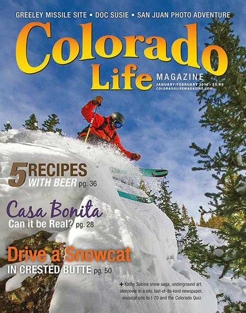 Colorado Life magazine cover