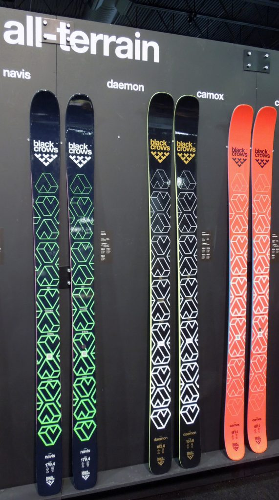 Black Crows All Mountain and Big Mountain Skis c37cb0730