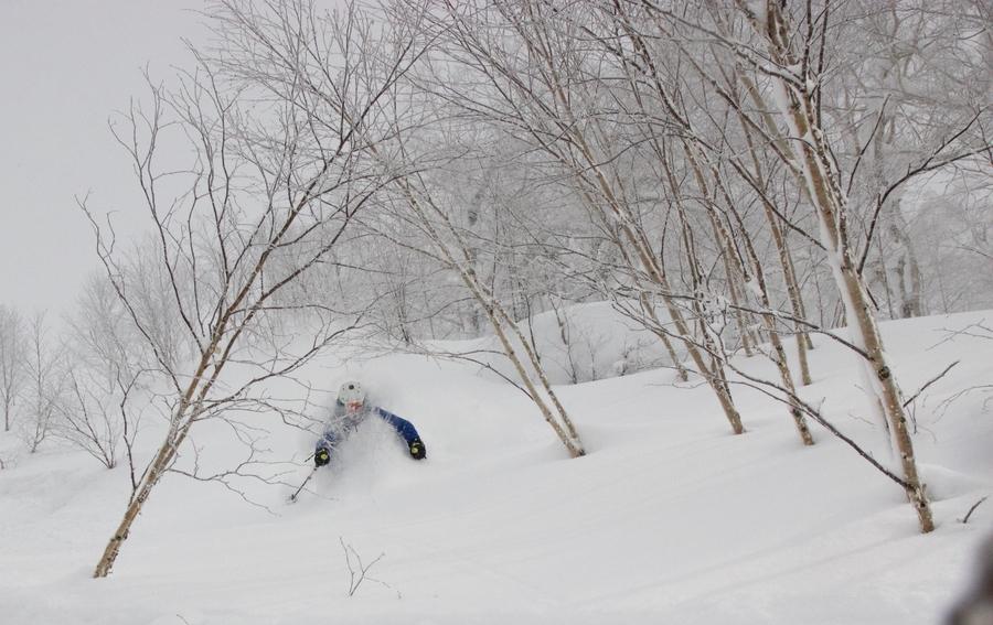 skiing asahidake