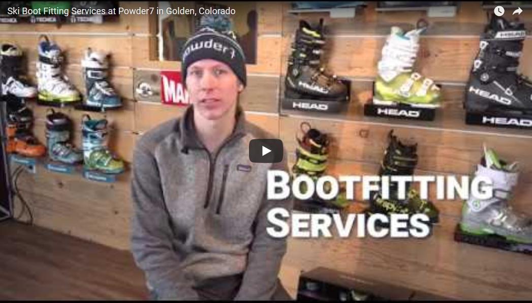 custom ski boot fitting at powder7