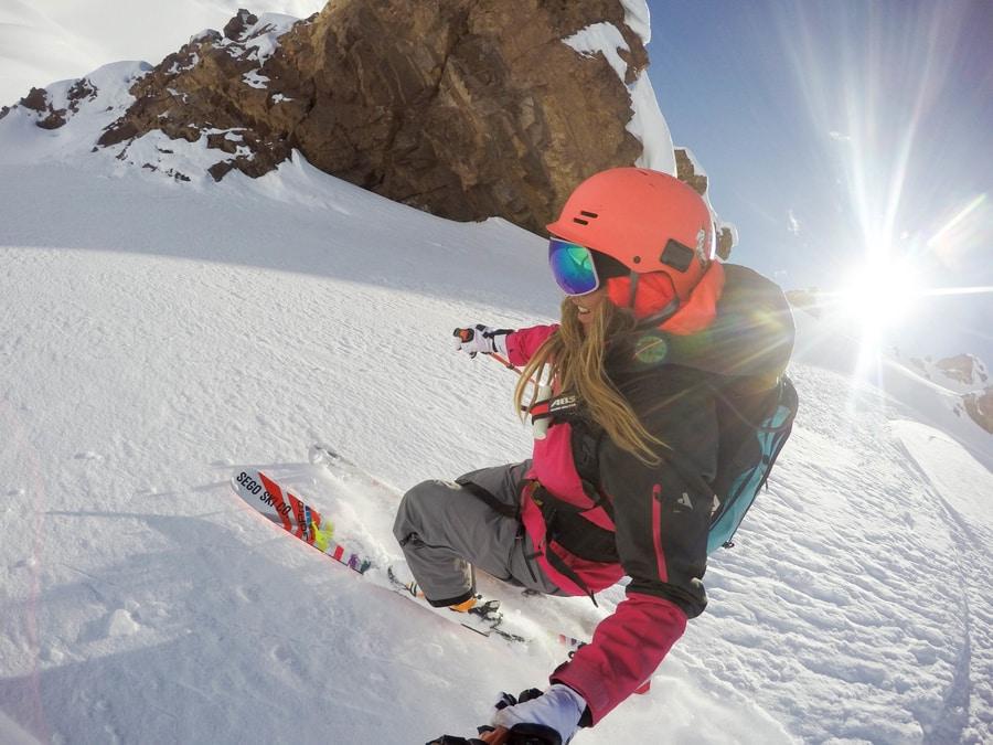 lynsey dyer heli skiing