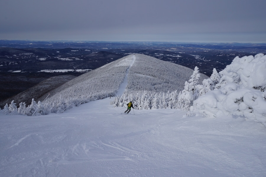 skiing cannon mountain new hampshire