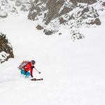 austria hut skiing