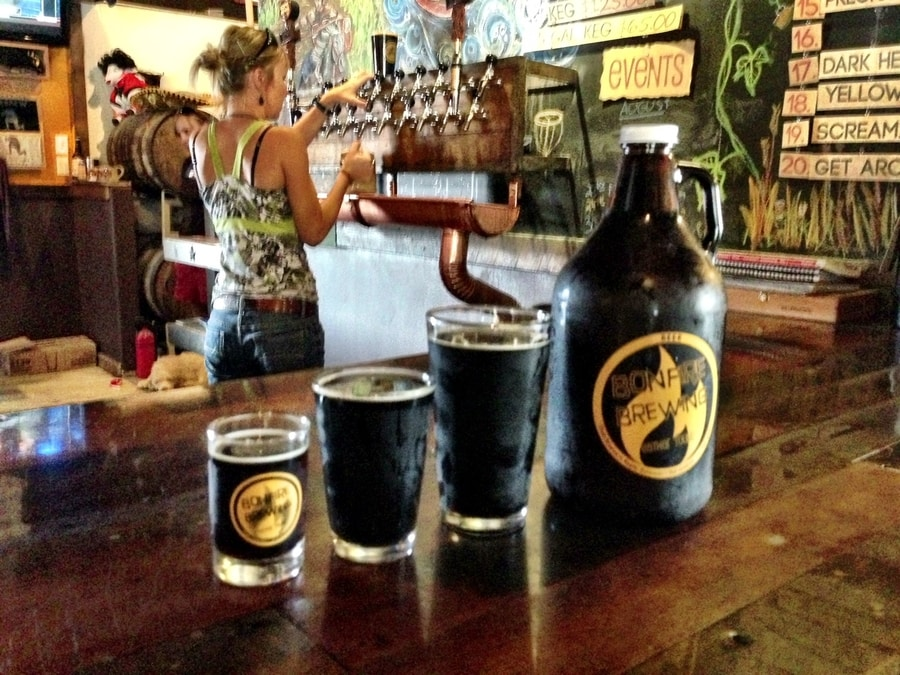 where to adventure and drink craft beer in colorado