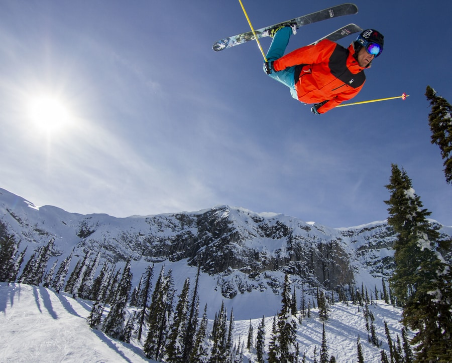 how to backflip on skis owen leeper