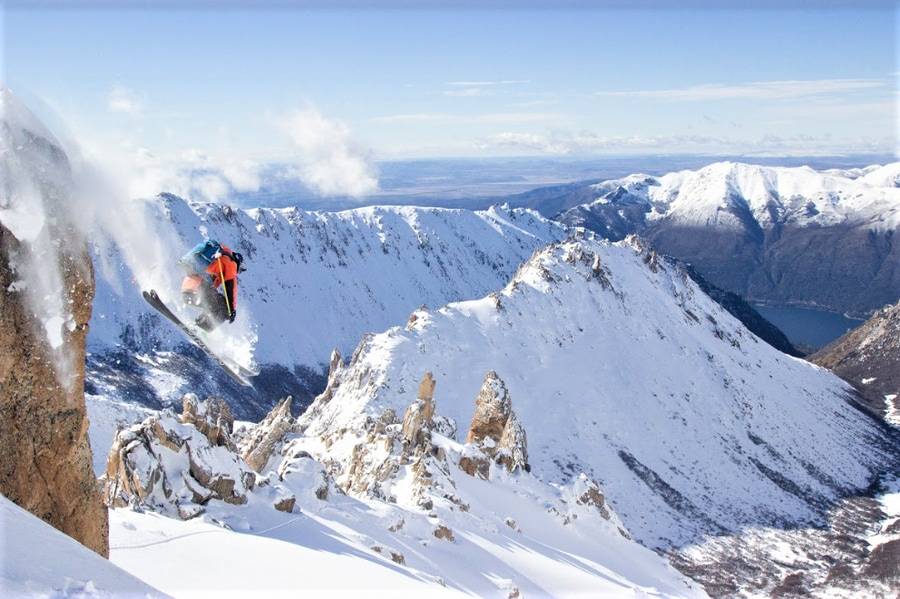 backcountry skiing patagonia refugio frey