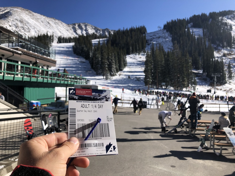 arapahoe basin opens first