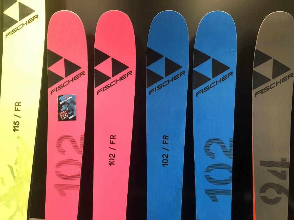 fischer skis 2021 ranger 102 FR