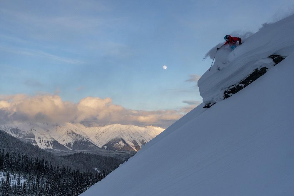 meadow hut skiing british columbia