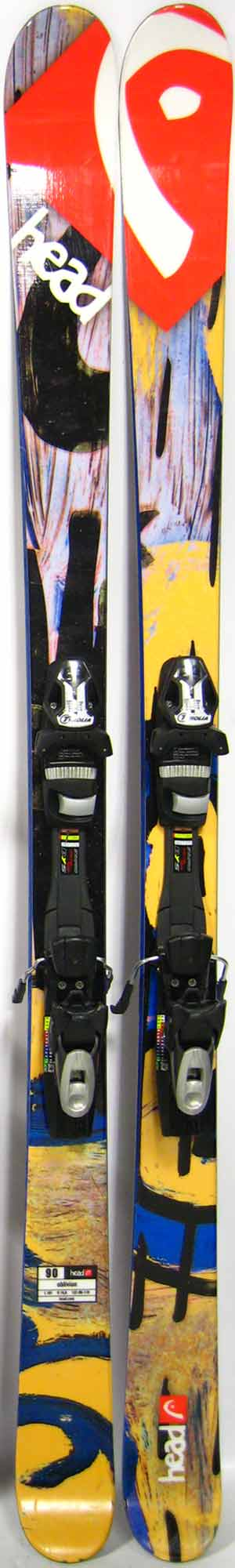 Topsheets of 2013 Head Oblivion Skis For Sale