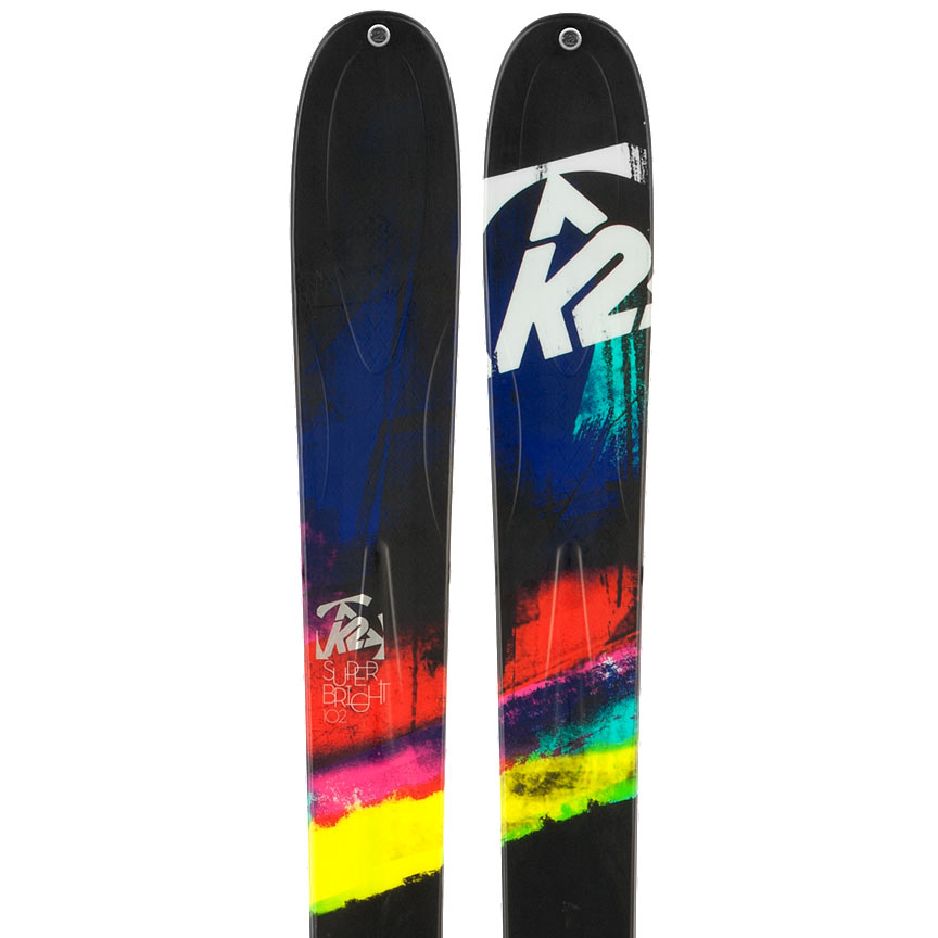2014 K2 SuperBright 102 Skis in 153cm For Sale