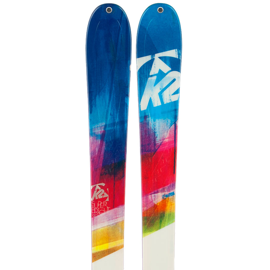 2014 K2 SuperBright 90 Skis in 153cm For Sale