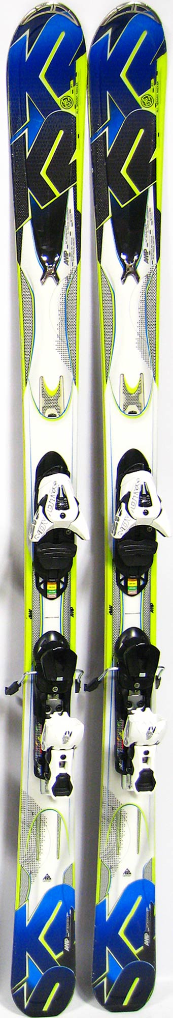 Topsheets of 2013 K2 Amp Aftershock Skis For Sale