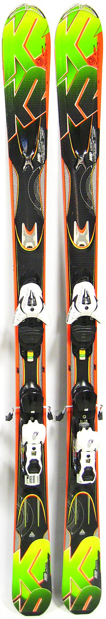 Topsheets of 2013 K2 Amp Rictor Skis For Sale