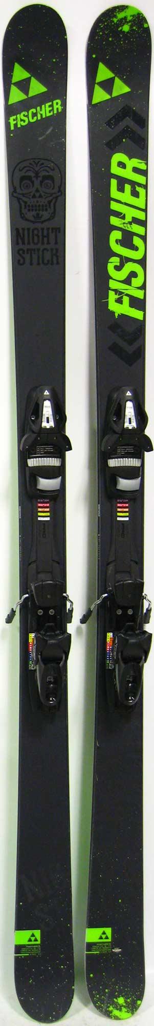 9d8ea08040 2014 Fischer Nightstick 181cm Used Demo Skis on Sale