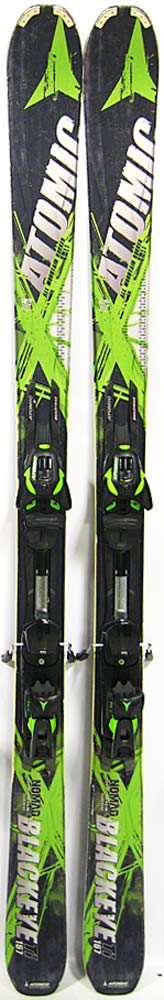 Topsheets of 2013 Atomic Nomad Blackeye Ti Skis For Sale