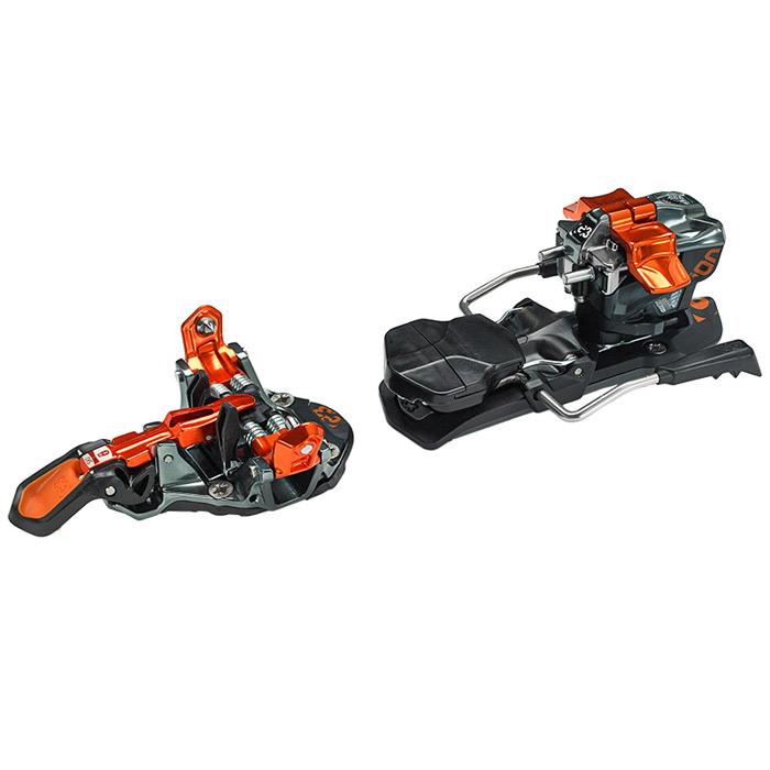 Gunmetal / Orange