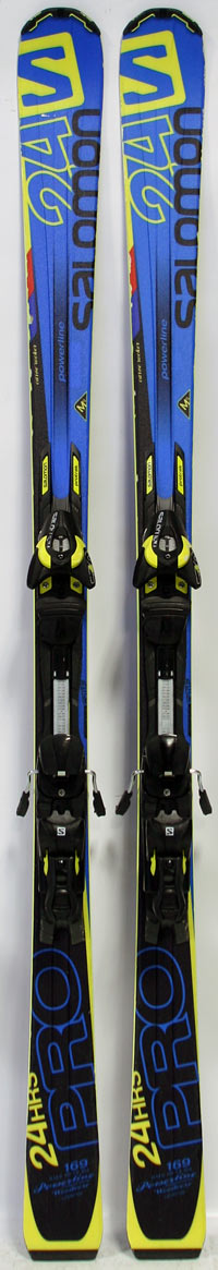 Salomon hours pro mens carving race demo skis w