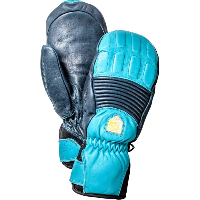 Fall Line Mitt Navy/Turquoise 7