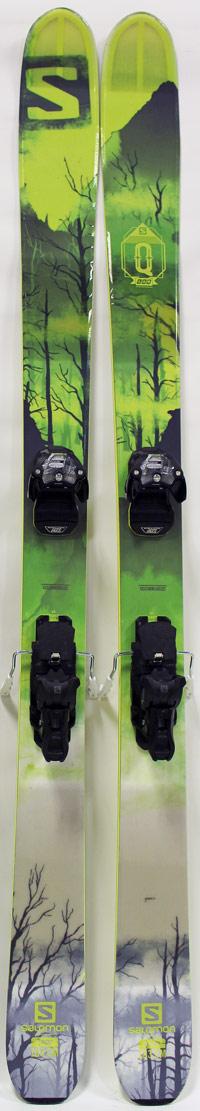 Salomon QLab Skis w Bindings