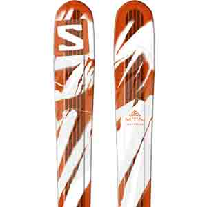 2017 Salomon MTN Explore 88 AT Setup Skis in 177cm For Sale
