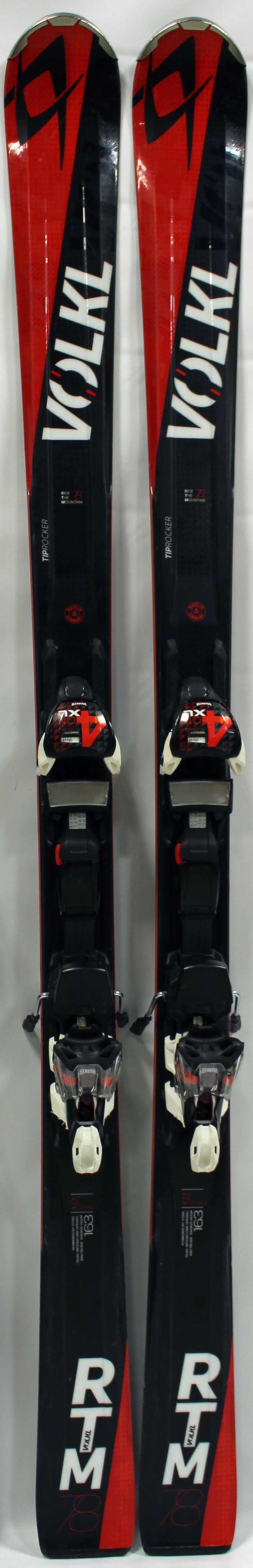 2016 Volkl Rtm 78 Used Demo 163cm Skis And Bindings On