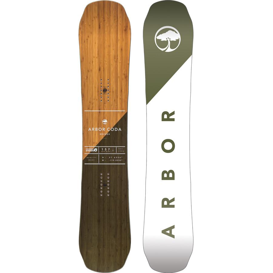 Arbor Coda Rocker Snowboard On Sale Powder7 Ski Shop
