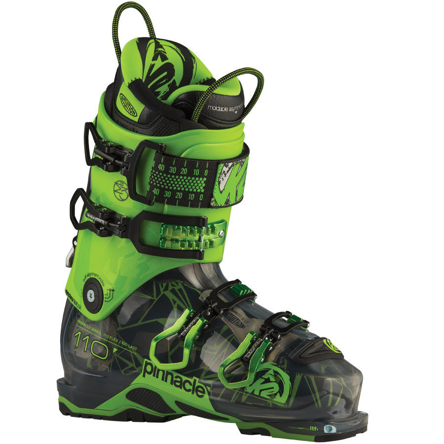 K2 Men's Pinnacle 110 Ski Boots On Sale