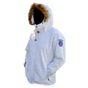 10th Mountain Division Shell Jacket White L