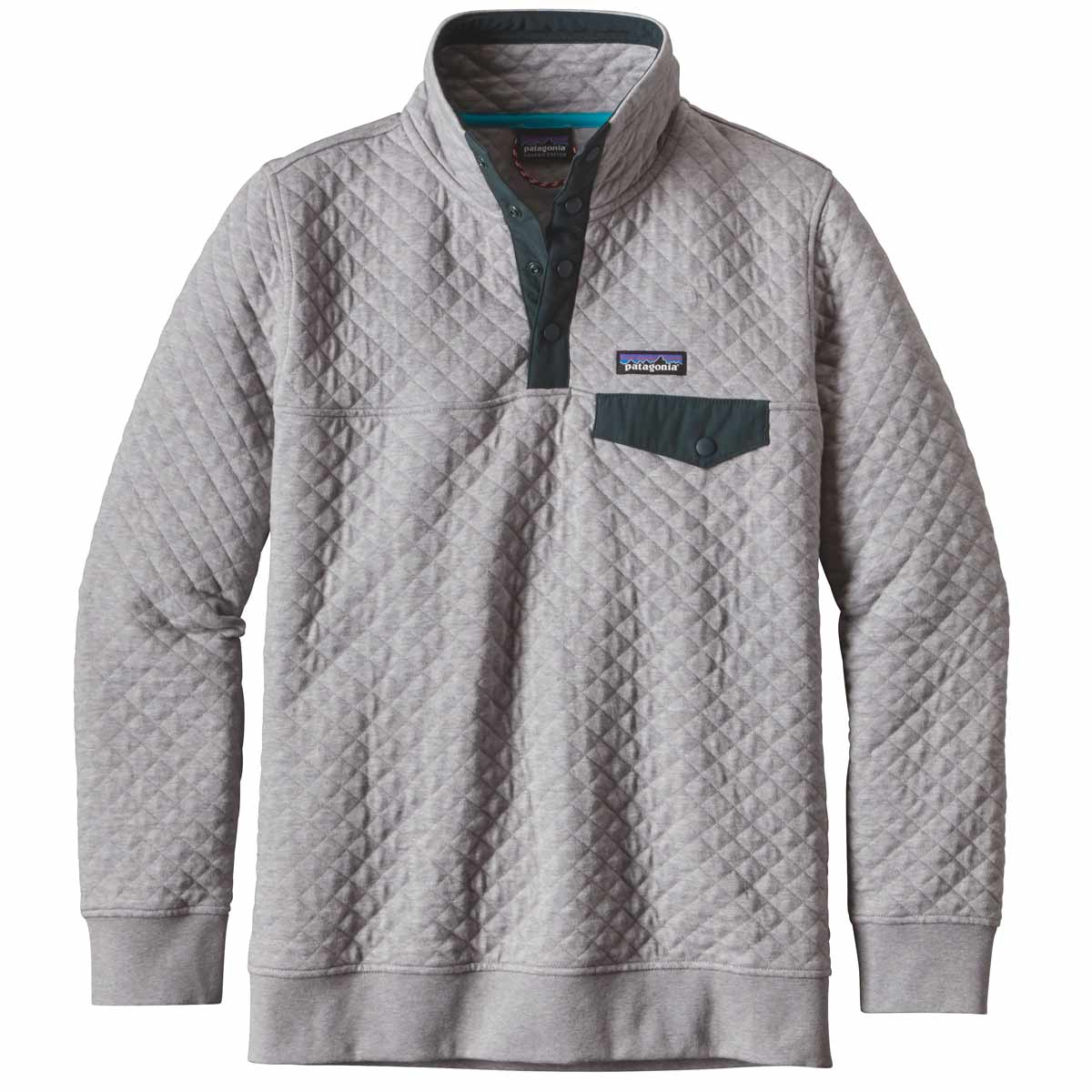 Patagonia Women S Cotton Quilt Snap T Pullover Jacket On