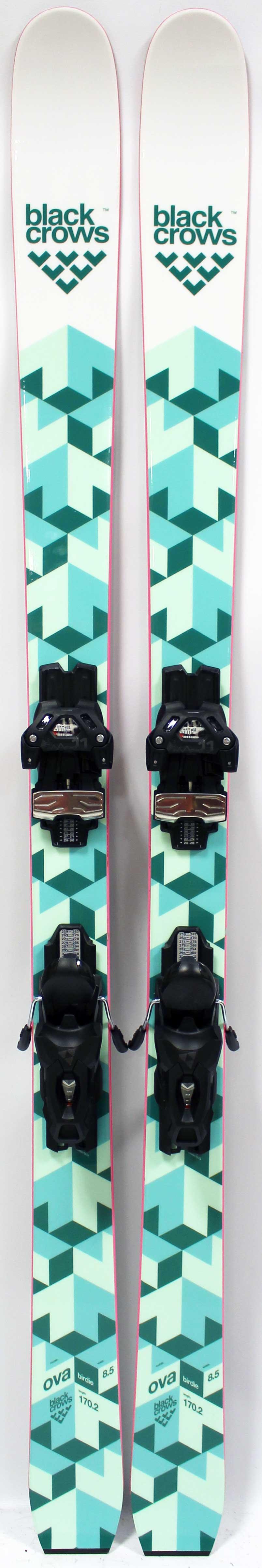 2017 Black Crows Ova Birdie 170cm Used Demo Skis on Sale  24ba8f2c0