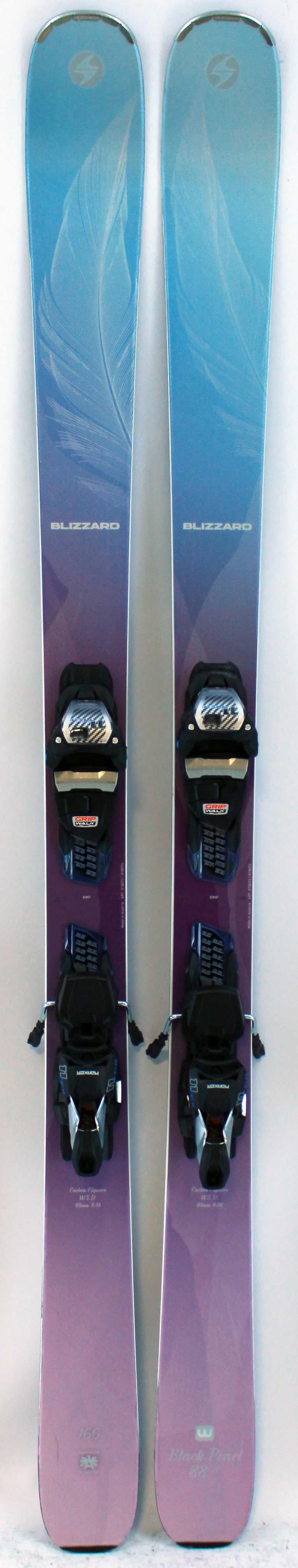 2018 Blizzard Black Pearl 88 166cm Used Demo Skis on Sale  086c9d0b1