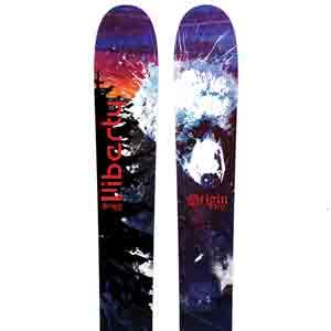 2018 Liberty Origin 116 AT Setup Skis in 190cm For Sale