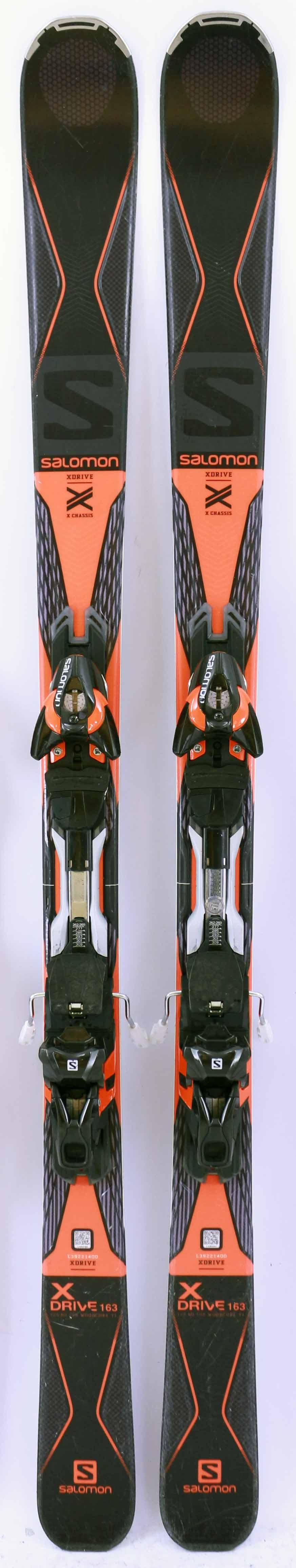 14 15 SALOMON X DRIVE 7.5 Used Men's Demo Skis wBindings